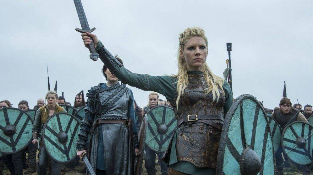 Foto: Katheryn Winnick (Lagertha), en 'Vikingos'. (History Channel)