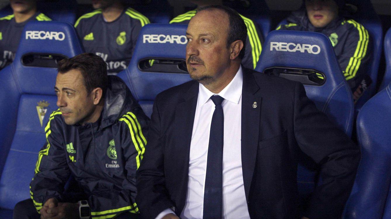 Benítez tiene antecedentes y un error similar le costó el puesto a Jorge Valdano