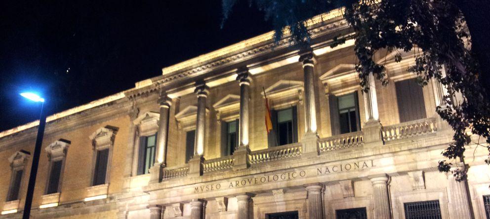 Foto: Fachada del Museo Nacional de Arqueología. (EC)