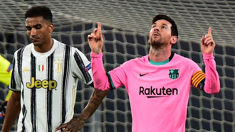 Foto: Messi celebra su gol de penalty contra la Juventus (Reuters)