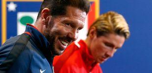 Post de Torres y su desencuentro con Simeone: