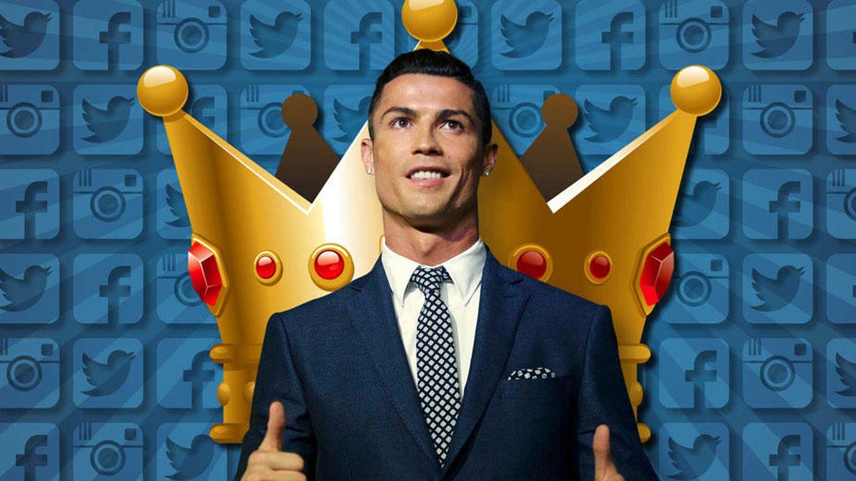 Así se ha convertido Cristiano Ronaldo en el rey de las redes sociales