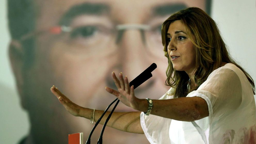 Susana Díaz se lanza a recuperar terreno en el socialismo catalán