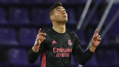 Hay Liga: el Real Madrid se mete de cabeza con el gol de Casemiro (0-1)