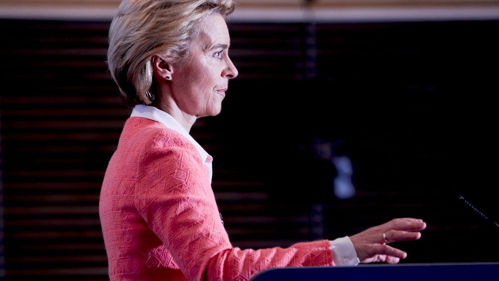 Foto: La nueva presidenta de la Comisión Europea Ursula Von del Leyen (Reuters)