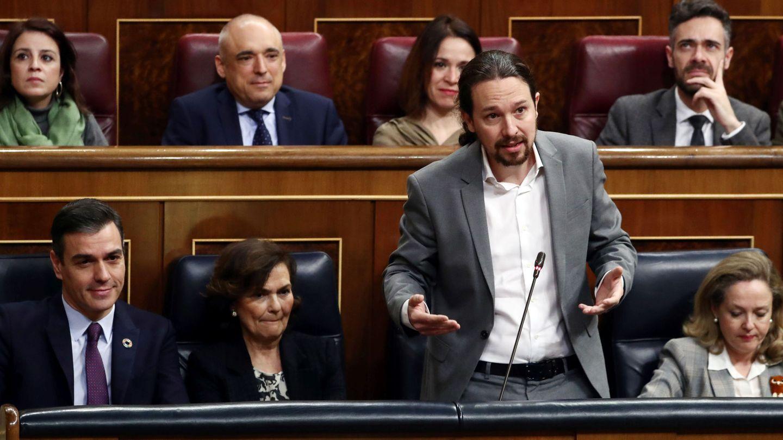 El vicepresidente segundo del Gobierno, Pablo Iglesias. (EFE)