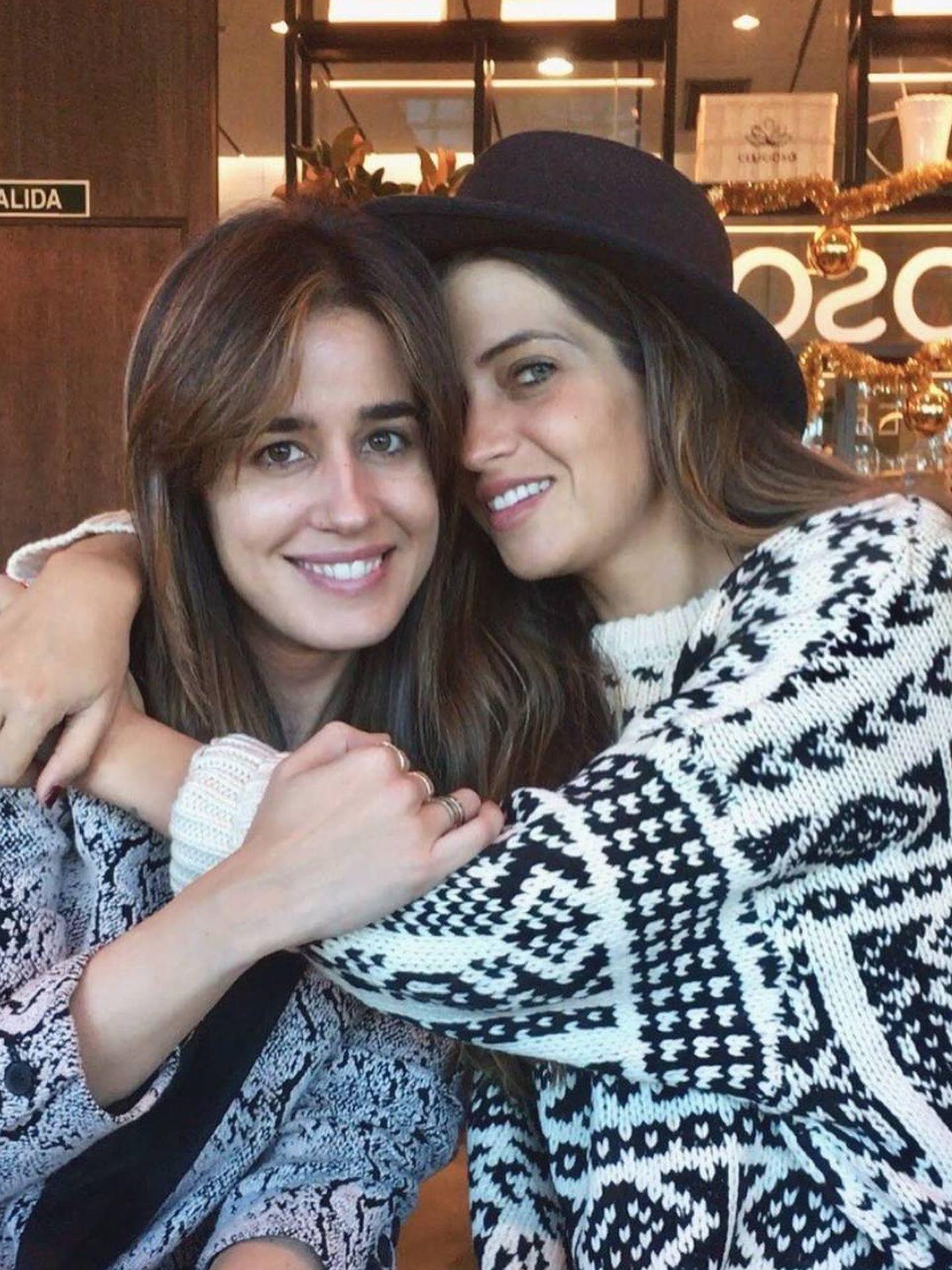 Imagen de Sara con Isabel Jiménez. (Instagram)