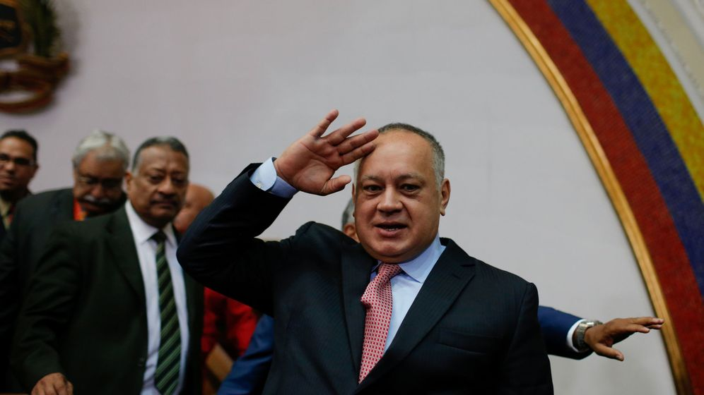 Foto: Diosdado Cabello (Reuters)