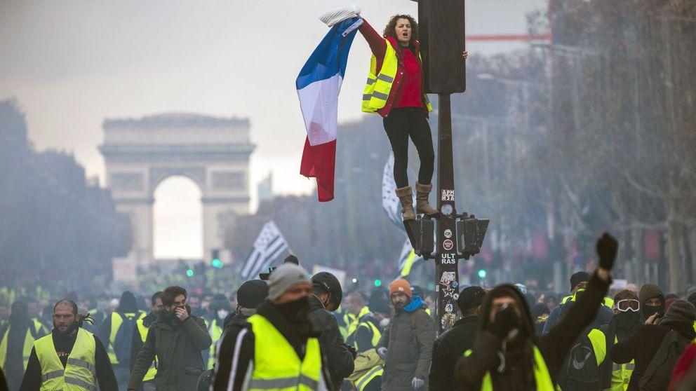 La revuelta de los 'Chalecos amarillos' se asoma a España en pleno debate por el diésel
