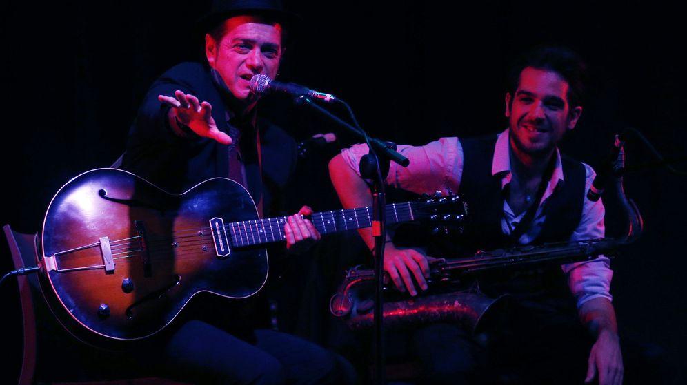 Foto: Juan Perro en concierto. (EFE)
