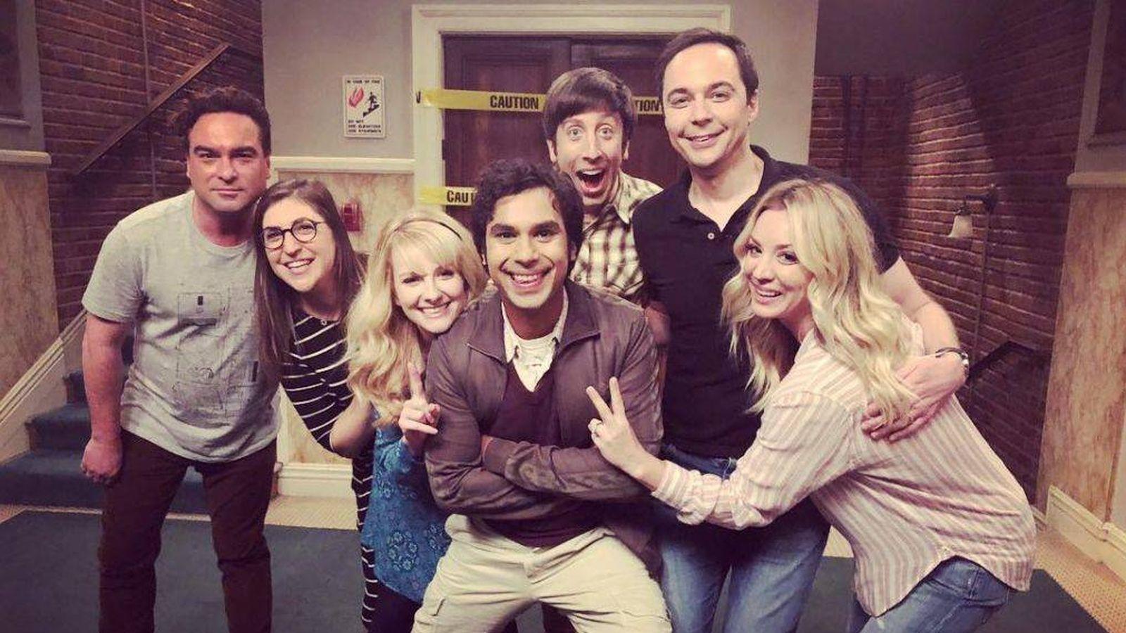 Foto: Los protagonistas de 'The Big Bang Theory'. (Agencias)