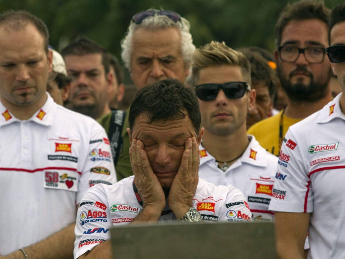 Foto: Gresini, durante el GP Malasia de 2012 (Efe)