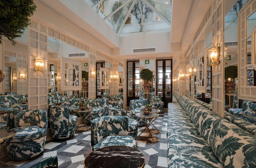 Foto: Así es el patio del Heritage Madrid Hotel. (Foto: Cortesía)
