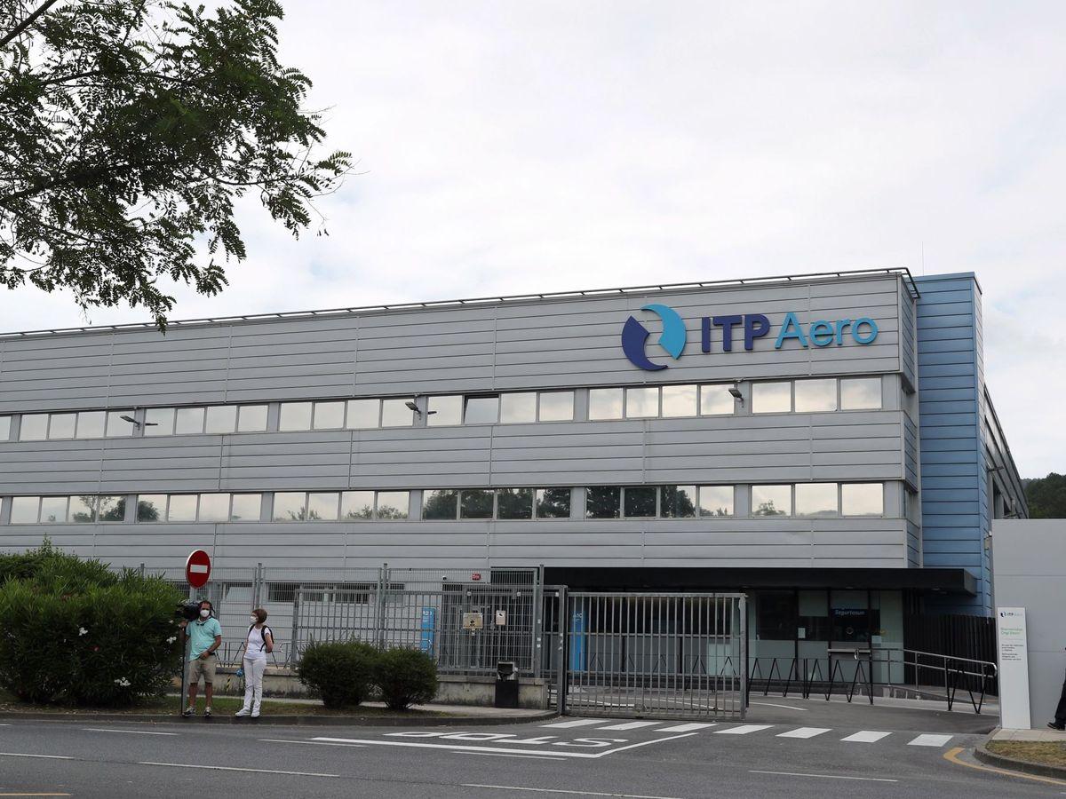 Foto: Una de las fábricas de ITP Aero en el País Vasco. (EFE)