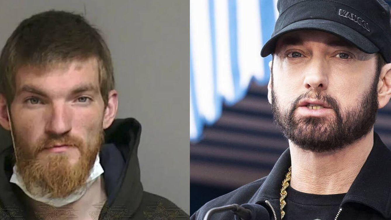 Foto: Matthew David Hughes, el asaltante que, supuestamente, amenazó a Eminem. Foto: Oficina del Sheriff del Condado de Macomb / EFE