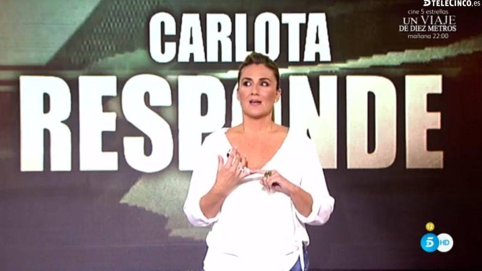 Lágrimas de Carlota Corredera al explicar la filtración de la boda de Kiko
