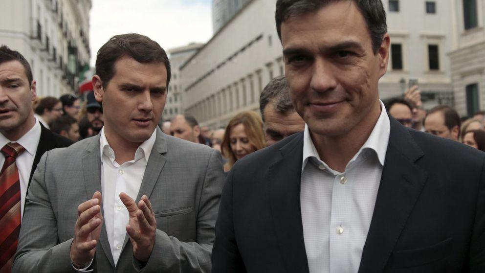 El PSOE sufre un trasvase mayor de votos a Ciudadanos que a Podemos e IU