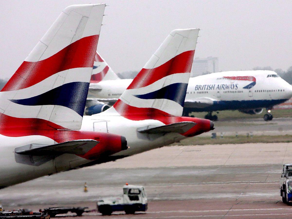 Foto: Aviones de BA