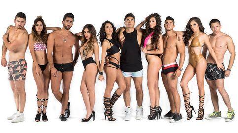 Posados en bikini y bañador de los participantes de 'Acapulco Shore 4'