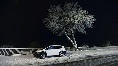 Así avanza la ola de frío: nevadas en zonas altas y lluvia en Andalucía y Galicia