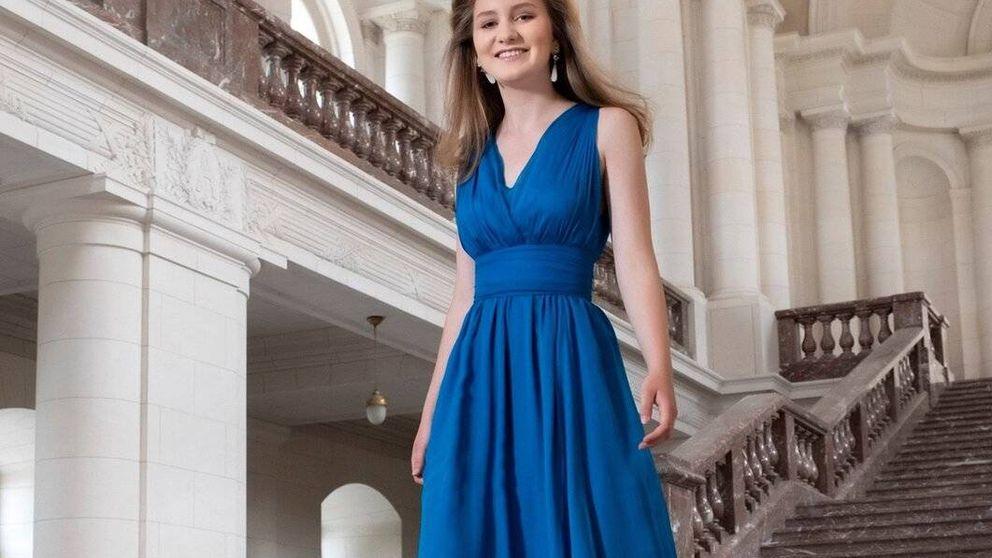 Las fotos oficiales por los 18 años de Elisabeth de Bélgica: la heredera más precoz