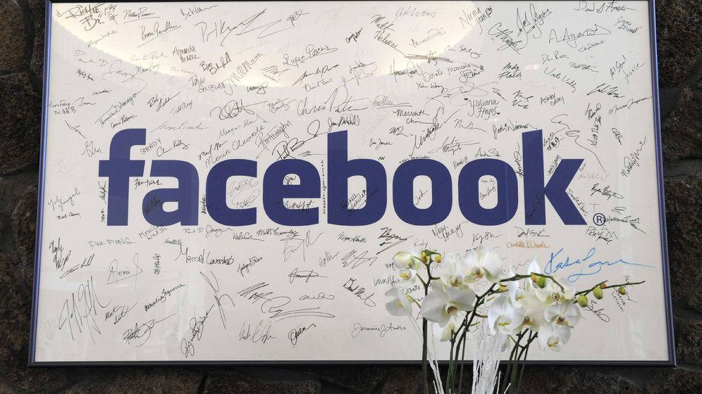 Foto: Rótulo corporativo en su sede central, en Palo Alto, California. (EFE)