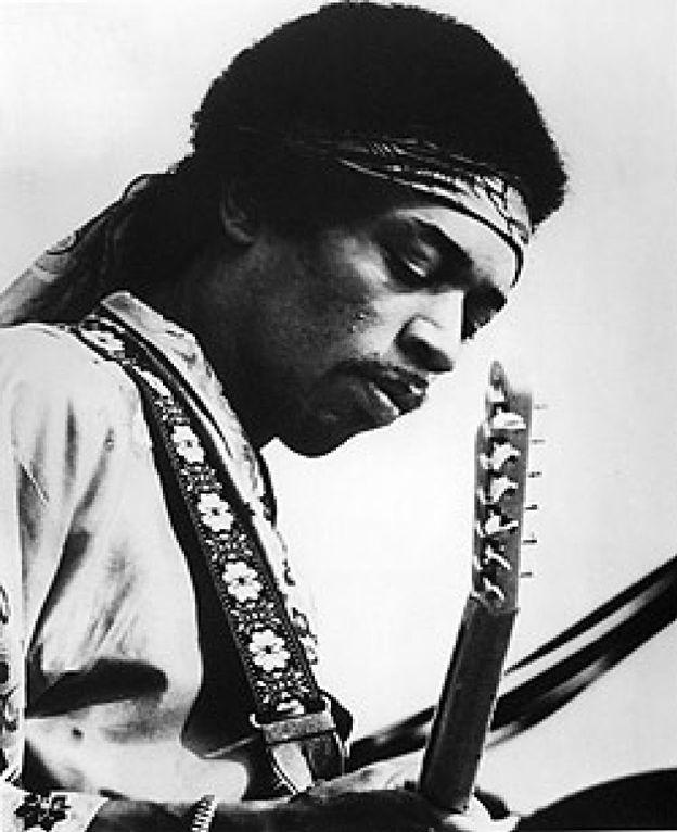 Foto: Jimi Hendrix tiene material inédito para unos cuantos años