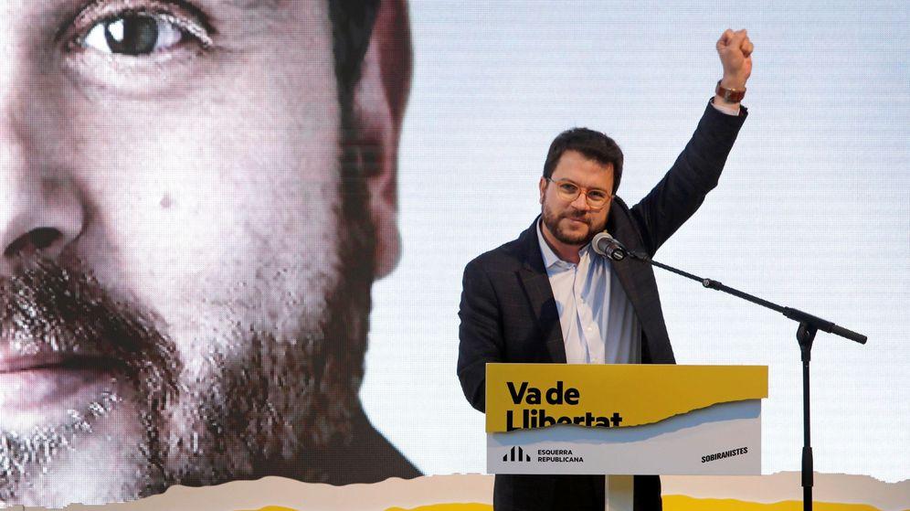 Foto: El vicepresidente del Govern, Pere Aragonés (Efe)