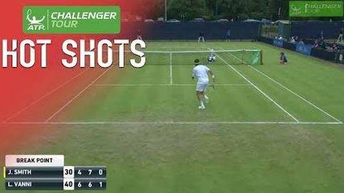 El punto de tenis que deja a todos boquiabiertos