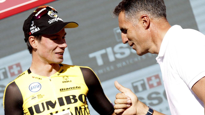 Primoz Roglic, el líder silencioso de la Vuelta y su 'parecido razonable' con Indurain