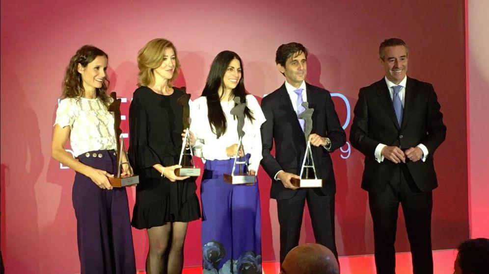 Foto: Los galardonados con los Premios AED 2019. (AED)