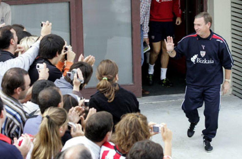 Foto: Clemente contará con toda la plantilla del Athletic para su debut en el banquillo