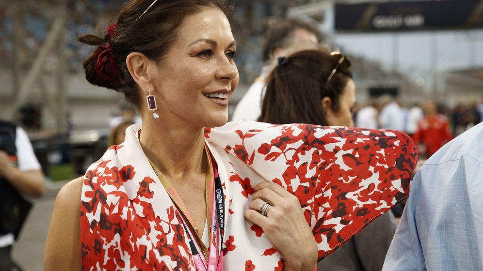 Foto: Zeta Jones en Bahrein (EFE)