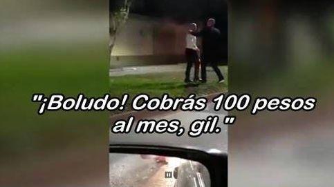 El enfado de Sampaoli con varios policías en un control de alcoholemia: Cobrás 100 pesos al mes, gil