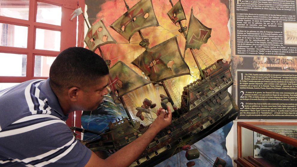 El galeón 'San José podría guardar el mayor tesoro encontrado bajo el mar