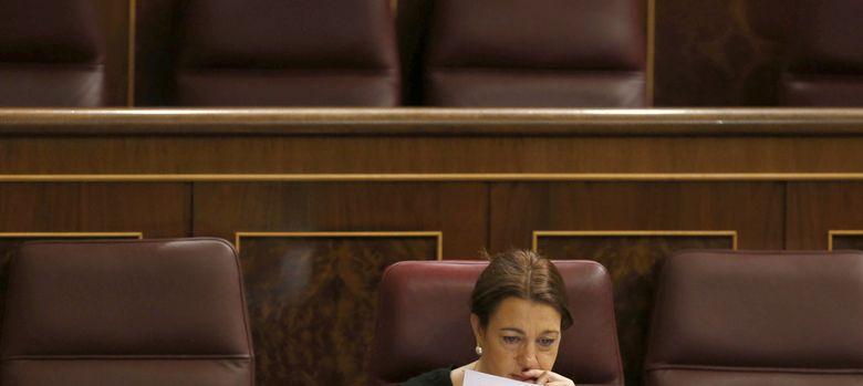 Foto: La portavoz parlamentaria socialista, Soraya Rodríguez. (EFE)