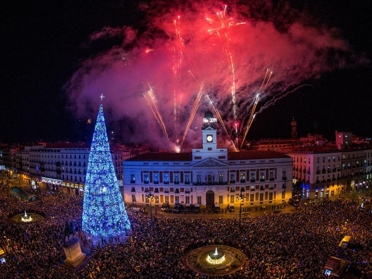 Foto: Nochevieja en Madrid en 2018. (EFE)