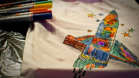 Pintura para tela que permite decorar ropa y textiles