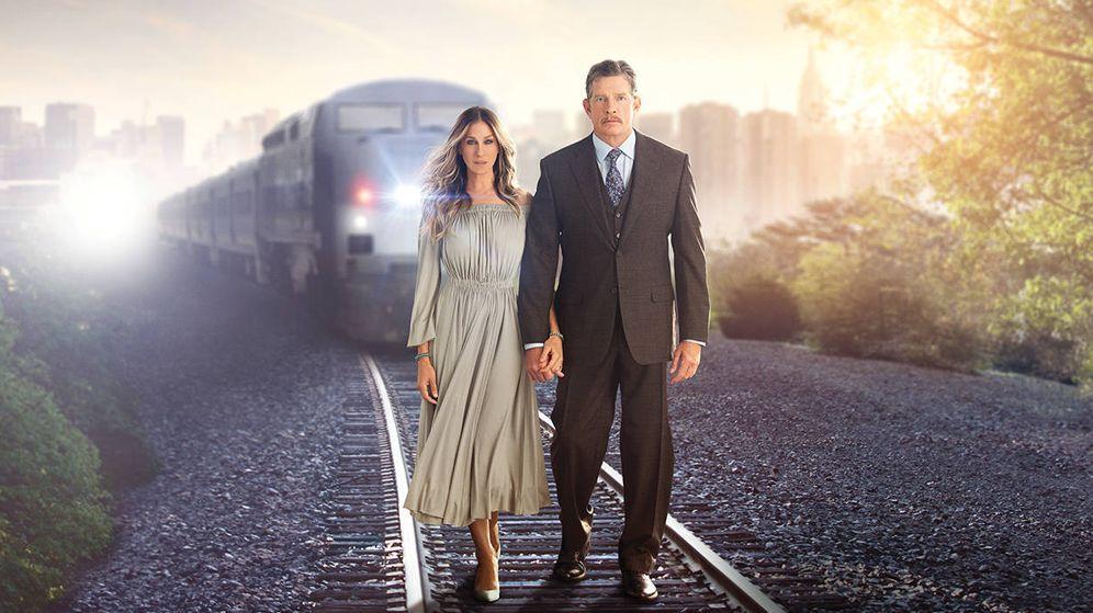 Foto: Sarah Jessica Parker y Thomas Haden Church, protagonistas de 'Divorce'