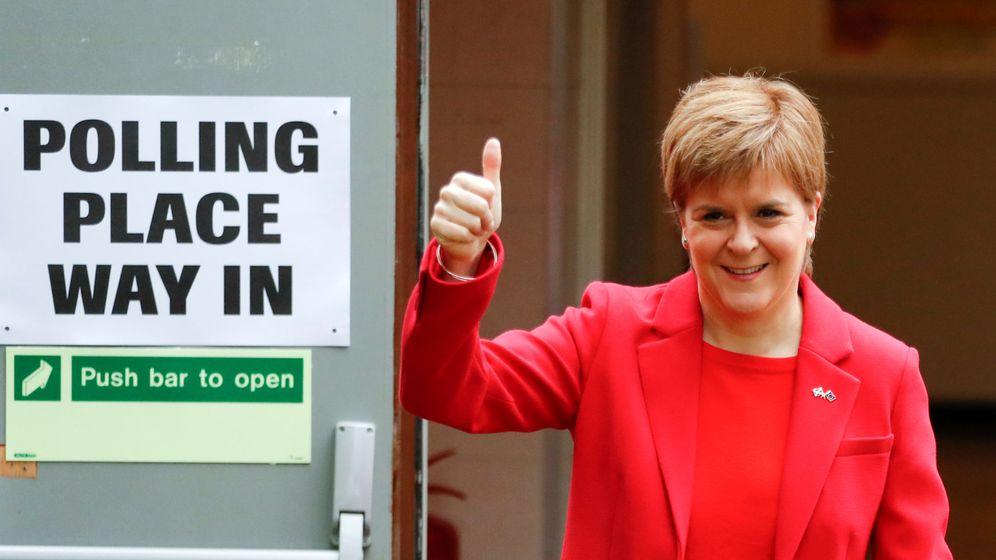 Foto: La primera ministra de Escocia, Nicola Sturgeon. (Reuters)