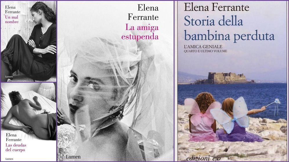 Foto: Detalle de portada de 'La amiga estupenda', de Elena Ferrante