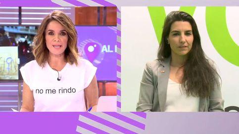 Tensión entre Carme Chaparro y Rocío Monasterio: ¡Le he hecho una pregunta!