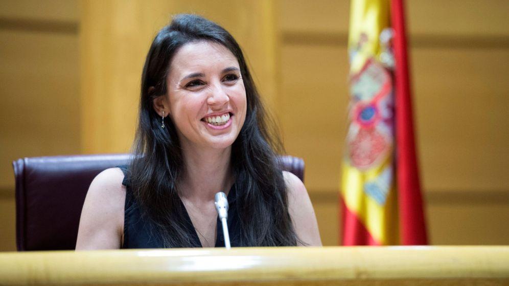 Foto: Irene Montero, ministra de Igualdad. (EFE)