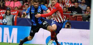 Post de Brujas - Atlético de Madrid: horario y dónde ver en TV y online la Champions