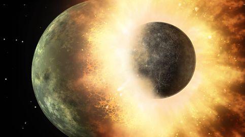 Una nueva teoría contradice lo que sabíamos sobre el origen de la Luna