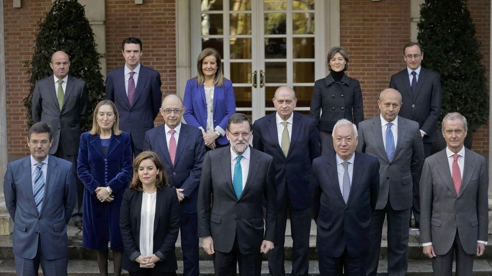 Foto: El presidente del Gobierno, Mariano Rajoy, que presidió la reunión del Consejo de Ministros. (EFE)