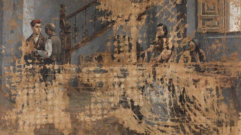 Foto: Imagen del cuadro retirado. (Museo del Prado)