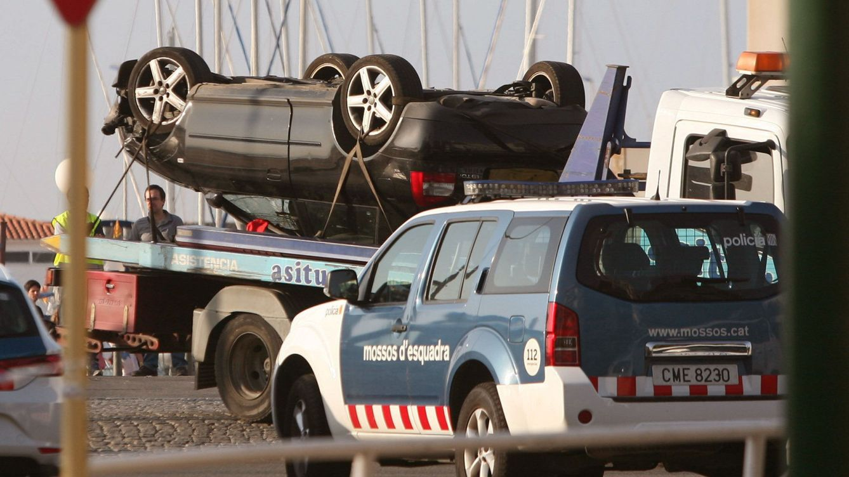 El Audi de Cambrils, fotografiado en París hace una semana por exceso de velocidad