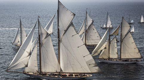 Los mejores yates de época compiten en el Panerai Classic Yachts Challenge