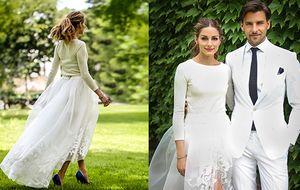 Olivia Palermo, vestida de novia